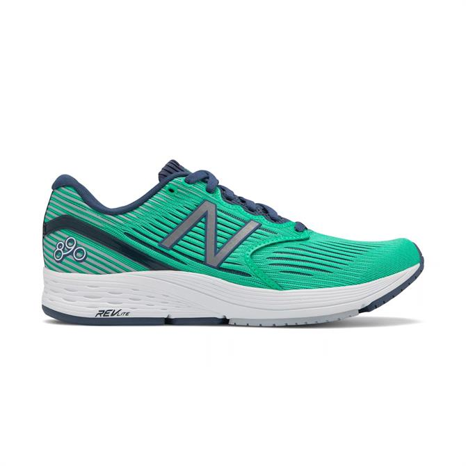 New Balance Women's 860v6 Running Shoes - Black/Tidepool