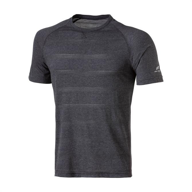 Pro Touch Men's Afi UX Running Short Sleeve T-Shirt - Black