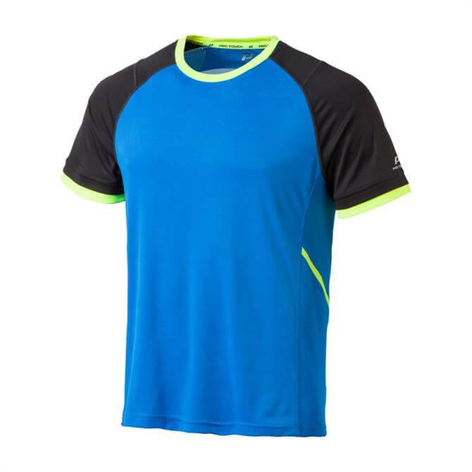 Pro Touch Men's Akin UX Short Sleeve T-Shirt - Royal Blue