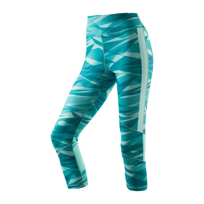 Pro Touch Women's Canelita II Training Tights - Turquoise