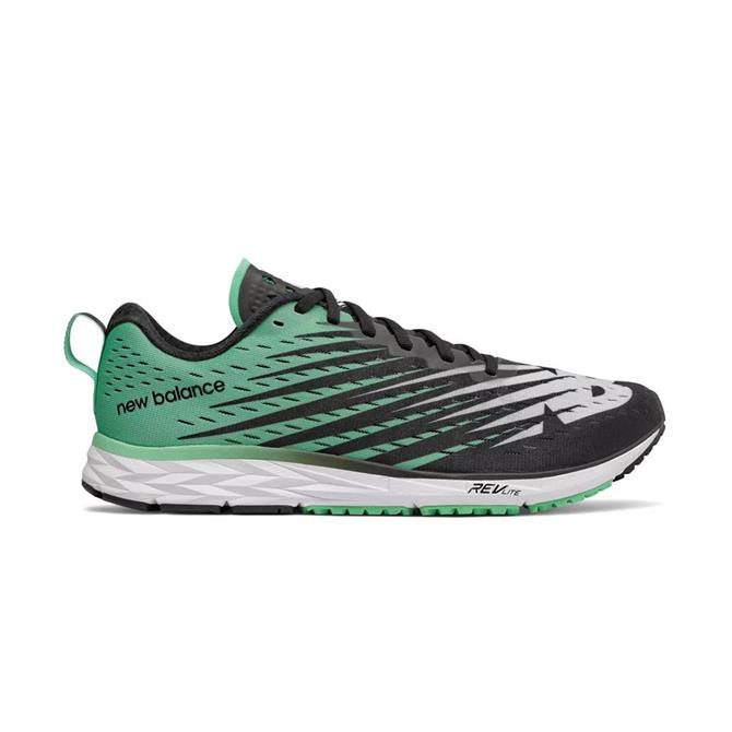 New Balance Men's 1500v5 Running Shoes - Black/Neon Emerald
