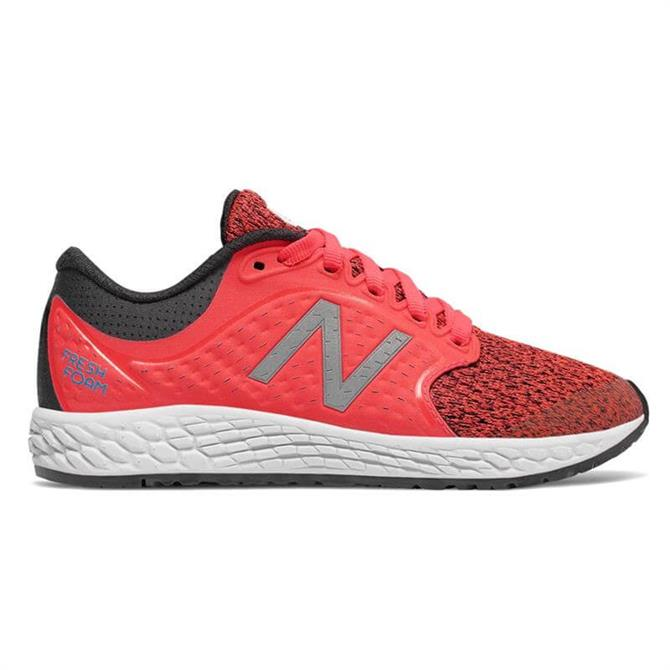 New Balance Kid's Fresh Foam Zante V4- Vivid Coral