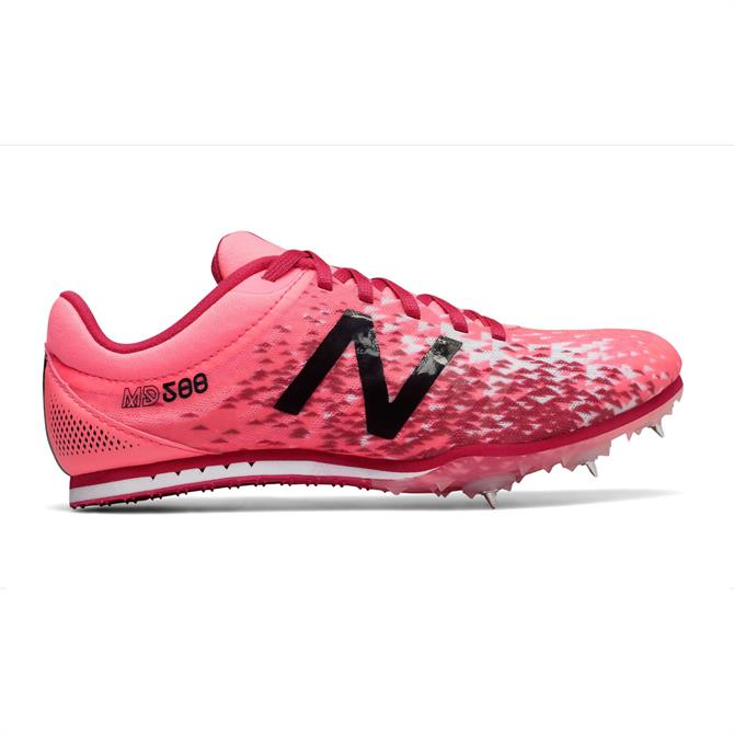 New Balance Women's MD500v5 Spike Running Shoes- Guava
