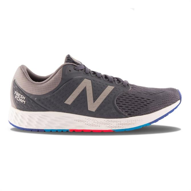 New Balance Men's Fresh Foam Zante Running Shoes- Grey