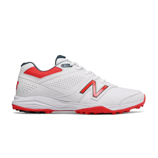 New Balance Men's 4020v3 Cricket Shoes - White Flame