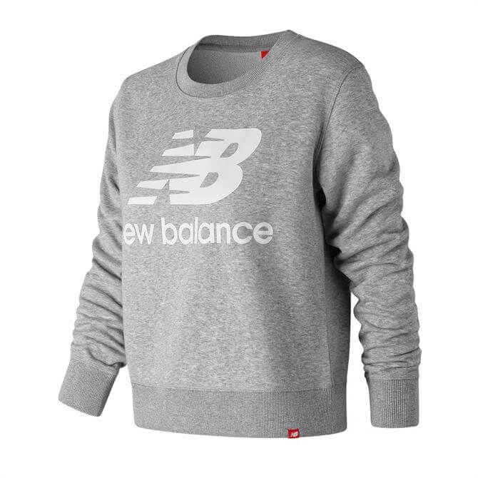 New Balance Women's Essential Crew Sweatshirt - Athletic Grey