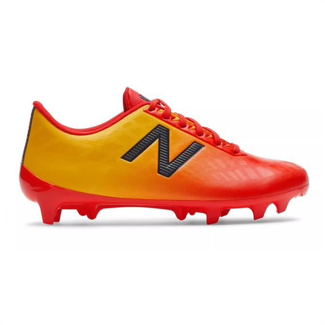 New Balance Junior Furon Dispatch Firm Ground Football Boots- Flame