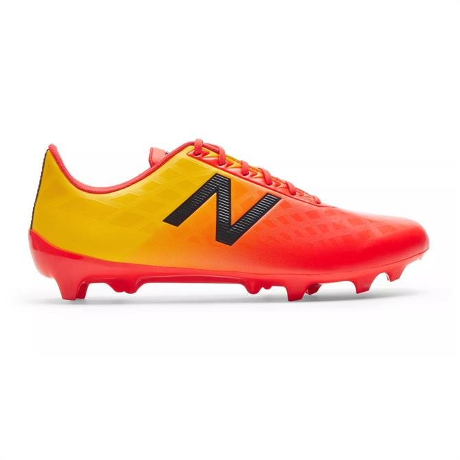 New Balance Men's Furon v4 Dispatch FG Football Boot- Flame