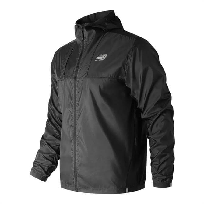 New Balance Men's Lite Running Packjacket 2.0 - Black
