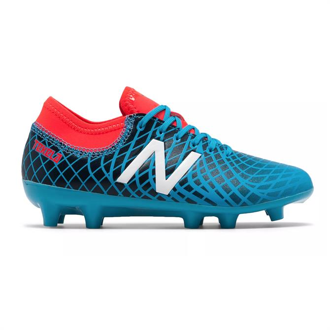 New Balance Junior Tekela Magique FG Football Boot- Polaris