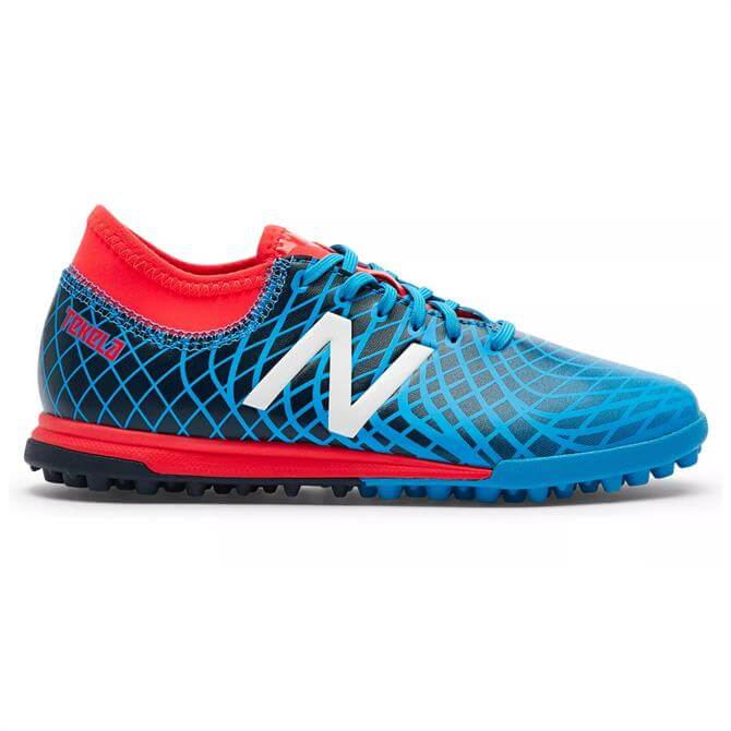 New Balance Junior Tekela Magique TF Football Boot- Polaris