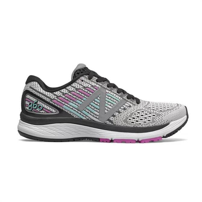 New Balance Women's 860v9 Running Shoes - White Voltage