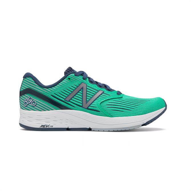 New Balance Women's REVlite 890v6 Running Shoes - Neon Emerald
