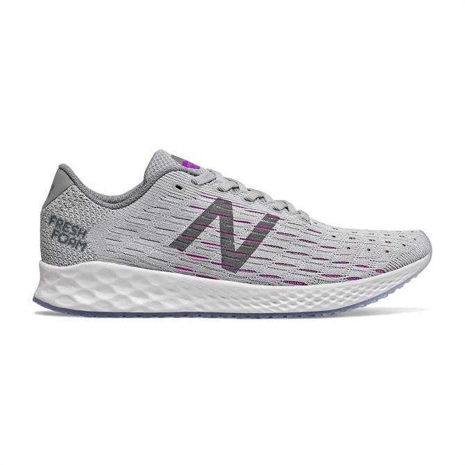 New Balance Women's Fresh Foam Zante Pursuit Running Shoe - Light Aluminium