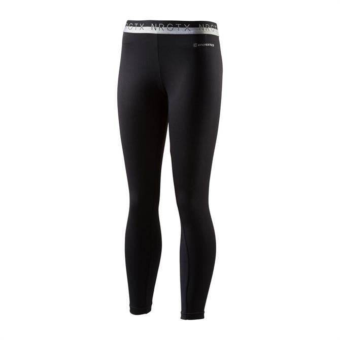 Energetics Junior Girls Kelinara Fitness Leggings - Black/White