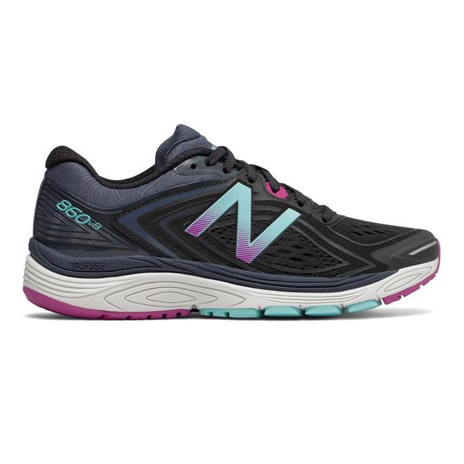New Balance Women's 860v8 Running Shoe- Poisonberry