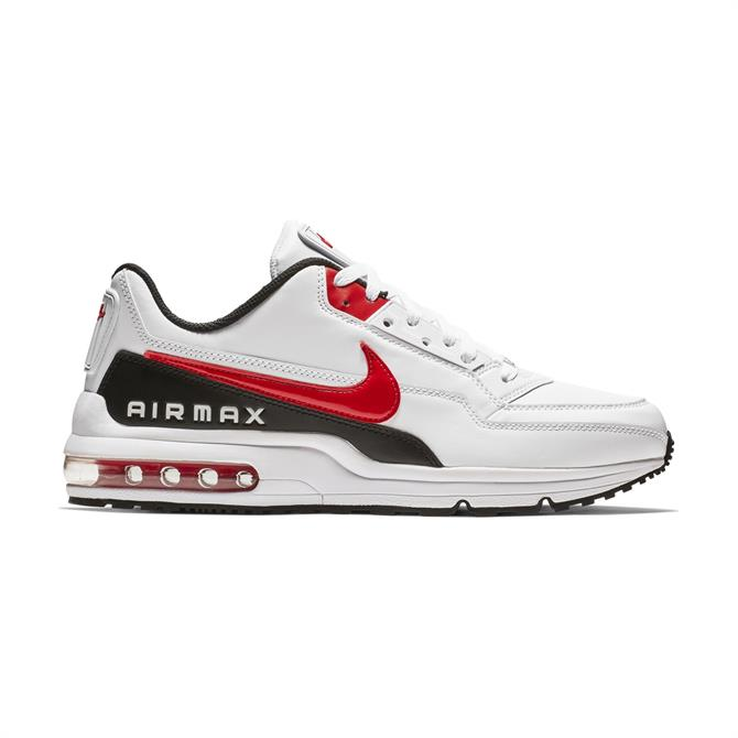 Nike Men's Air Max LTD 3 Trainers - White/University Red