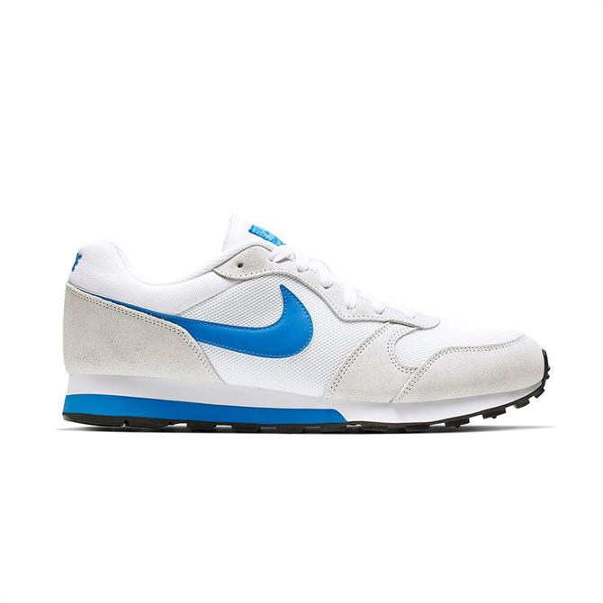 Nike Men's MD Runner 2 Running Shoe - White/Photo Blue