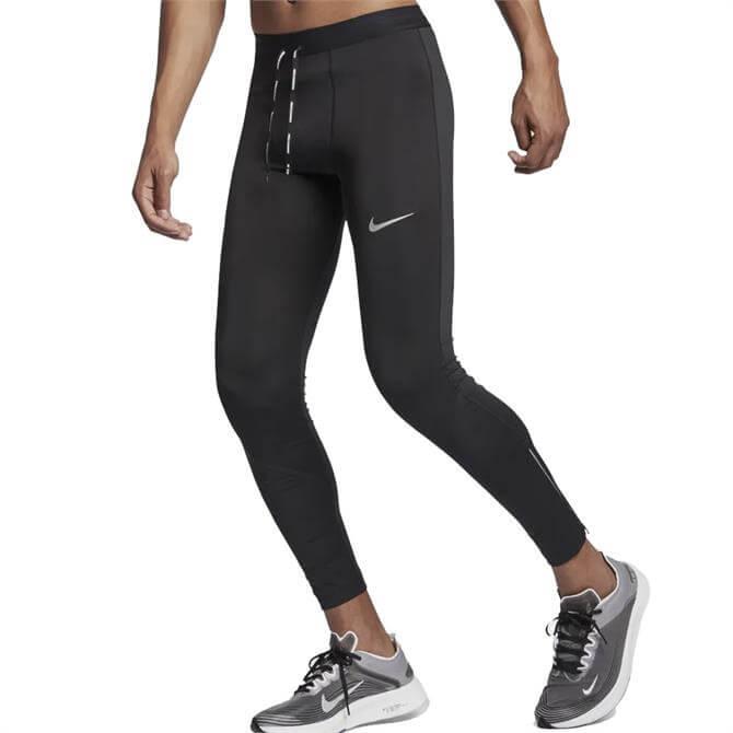 Nike Men's Power Tech Mobility Running Tights - Black