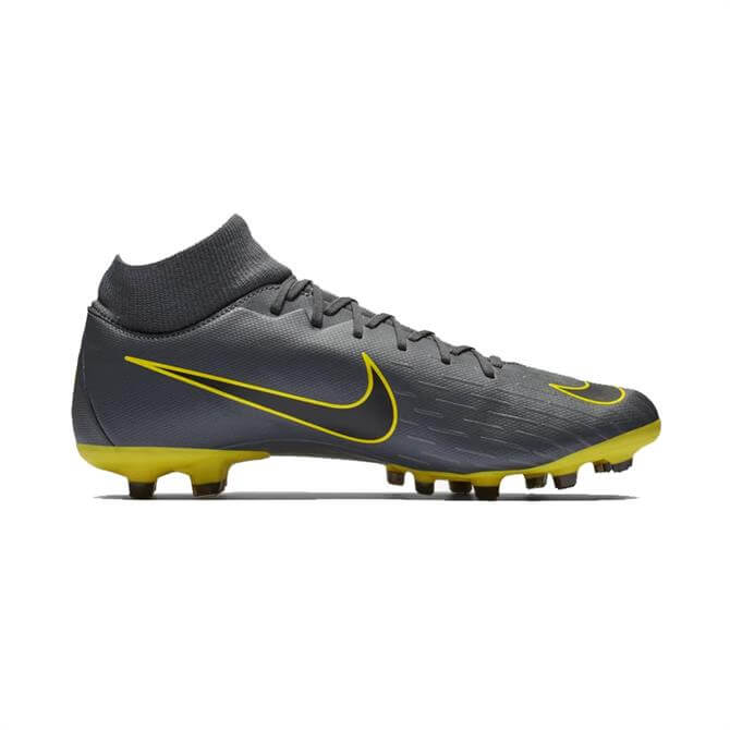 Nike Men's Superfly 6 Academy Mixed Ground Football Boots - Dark Grey