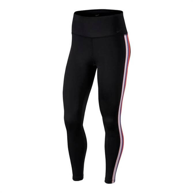 Nike Women's 7/8 Power Training Tights - Black Stripe