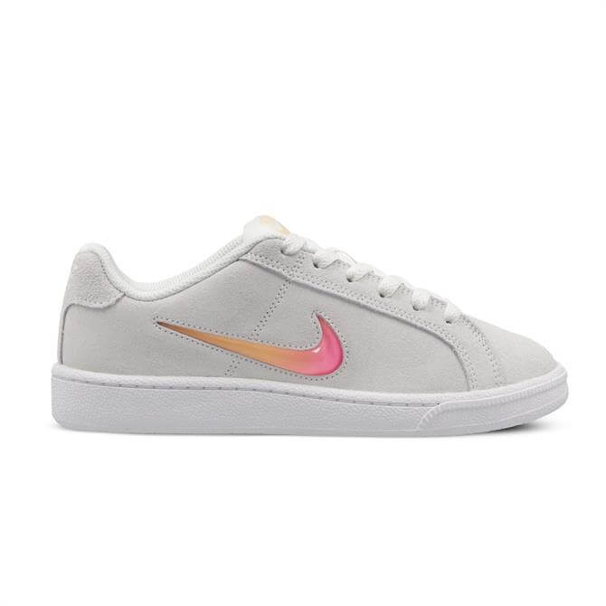 Nike Women's Court Royal Premium Trainers - Sail/Laser Fuchsia