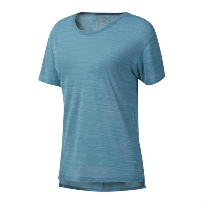 Reebok Women's WOR ActivCHILL Training T-Shirt - Mineral Mist