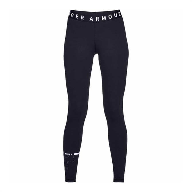 Under Armour Women's Favourite Fitness Leggings – Black White