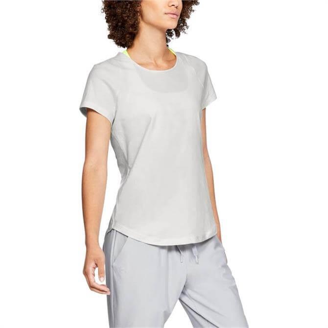 Under Armour Women's Vanish Short Sleeve T-Shirt - Onyx White