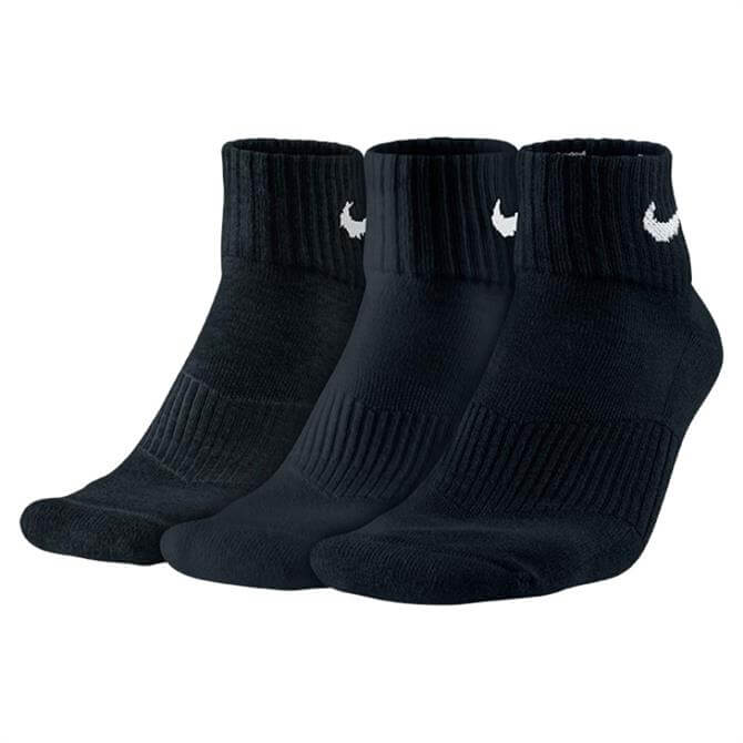 Nike Cushion Quarter Sock - 3 Pair Pack