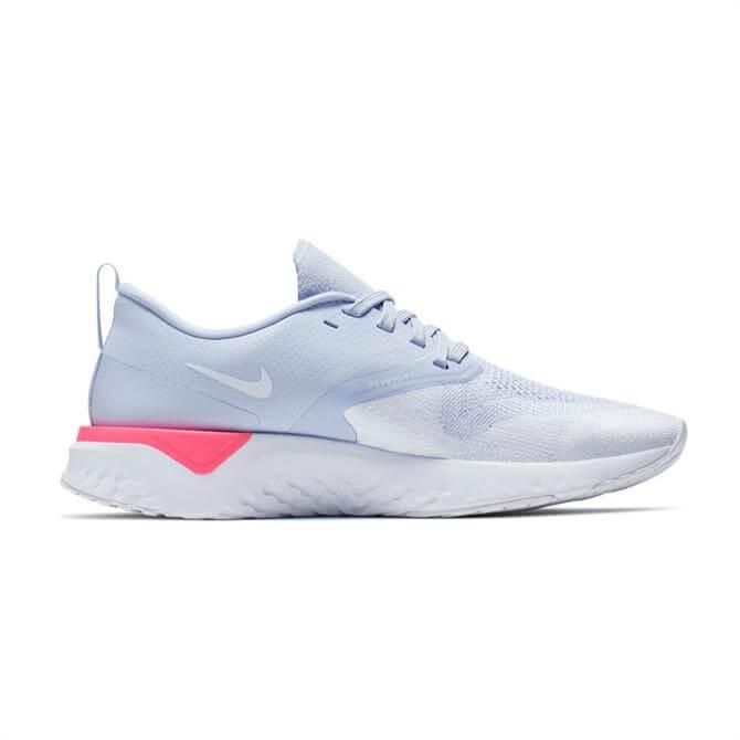 Nike Woman's Odyssey React Flyknit 2 Running Shoe - Hydrogen Blue