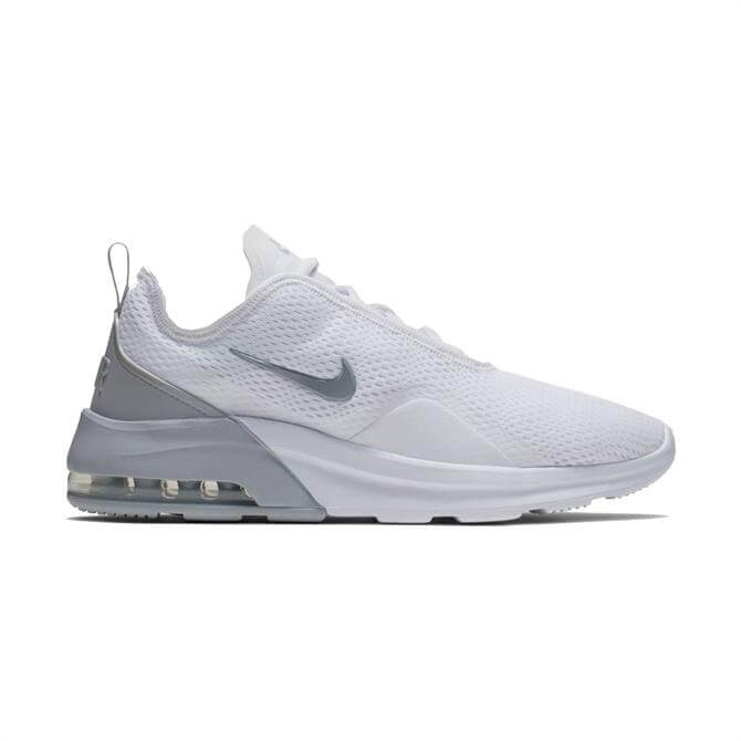 Nike Men's Air Max Motion 2 Trainers - White/Wolf Grey
