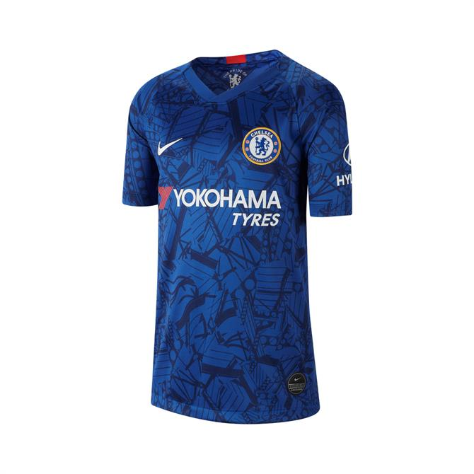 Nike Junior Chelsea FC 2019/20 Stadium Home Football Shirt