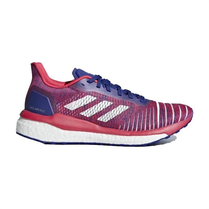 Adidas Women's Solar Drive Running Shoes - Shock Red