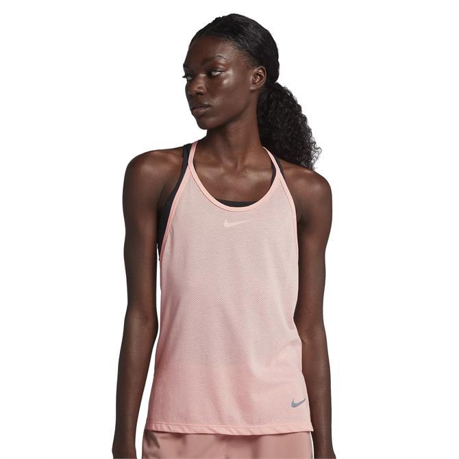 Nike Women's Tailwind Tank Running Top-Storm Pink