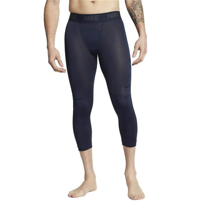 Nike Men's Pro 3/4 Training Tights - Obsidian