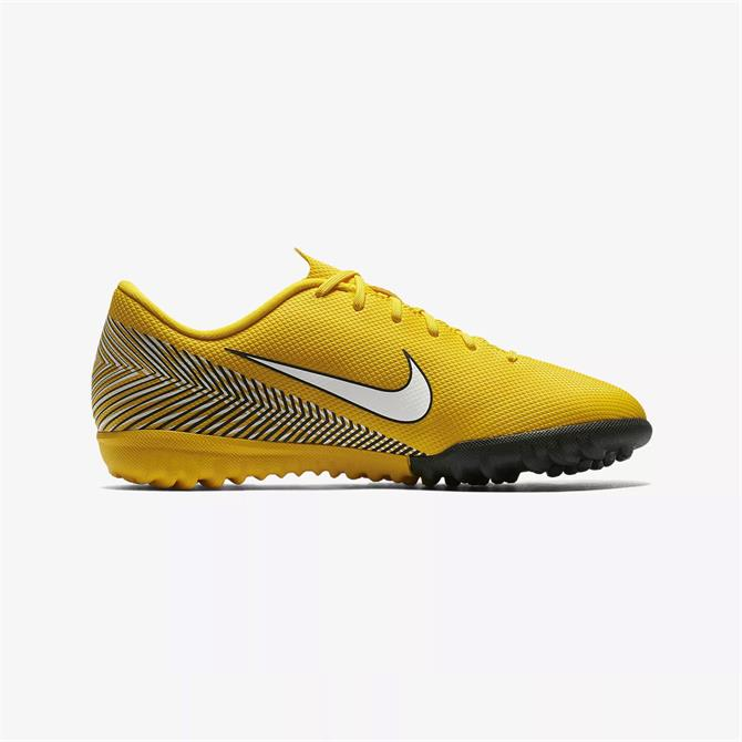 Nike Junior Mercurial Vapor XII Academy Neymar Turf Football Boots-Amarillo