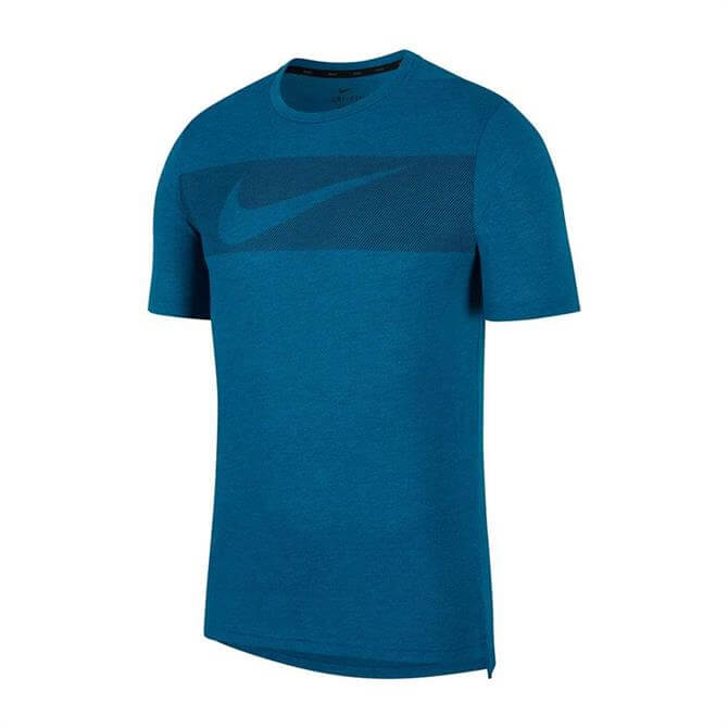 Nike Men's Breathe Dri-FIT Short Sleeve T-Shirt - Green