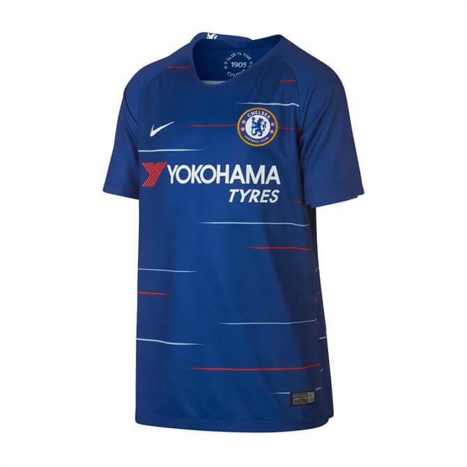 Nike Junior Chelsea FC Stadium Football Shirt 2018/19