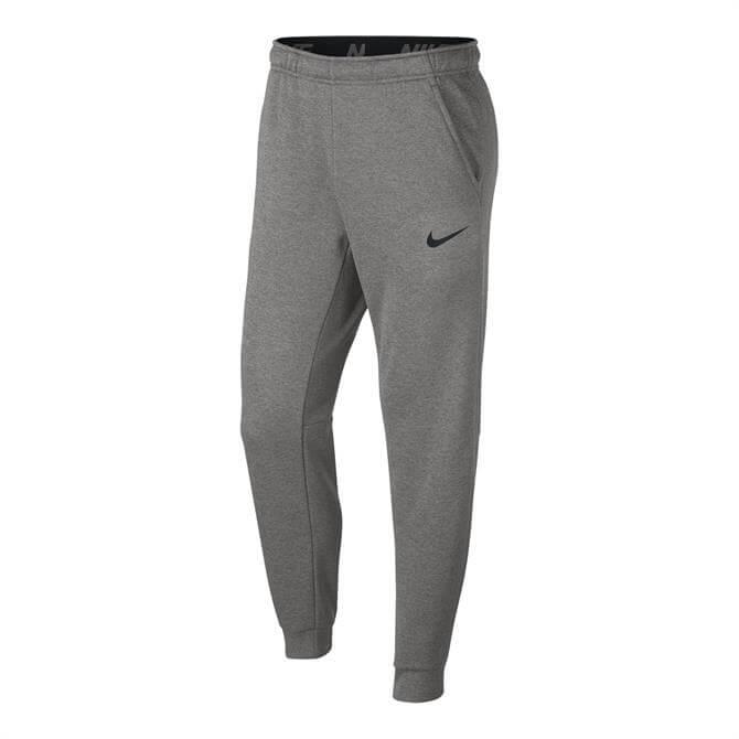 Nike Men's Therma Tapered Fleece Pant- Dark Grey