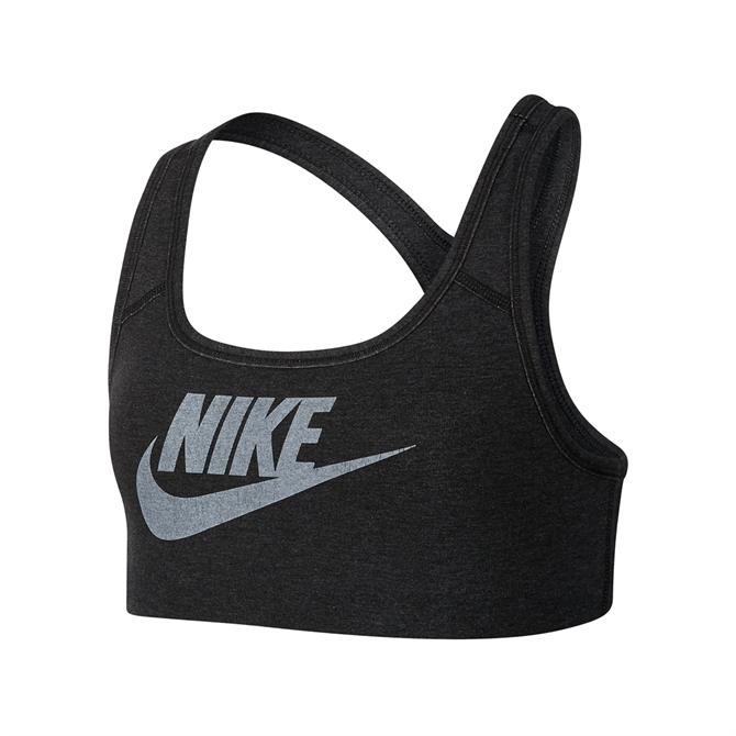 Nike Older Kid's Sportswear Sports Bra - Black