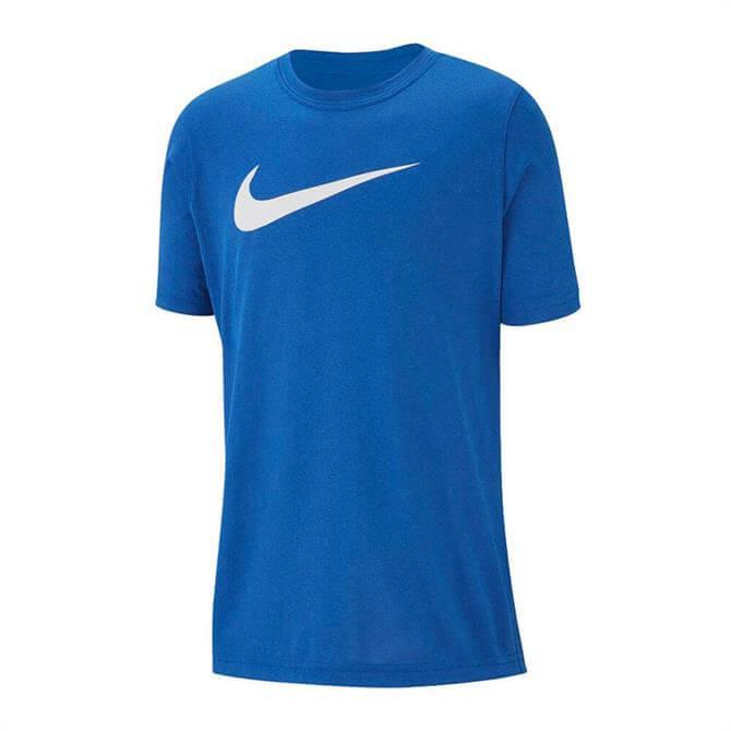Nike Kid's Dri-FIT Swoosh Short Sleeve T-Shirt- Game Royal
