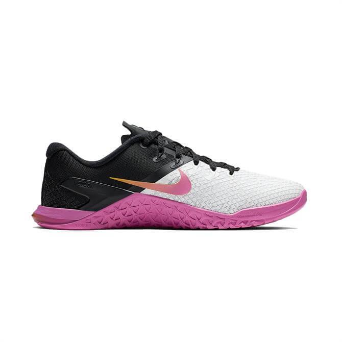 Nike Women's Metcon 4 XD Cross-Training Shoe - Laser Fuchsia