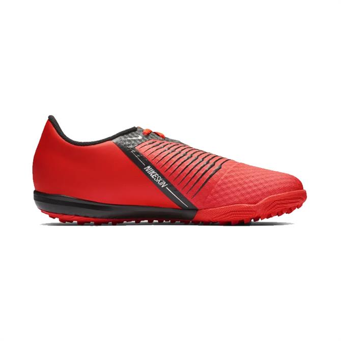 Nike Junior PhantomVNM Academy Turf Football Boot – Bright Crimson