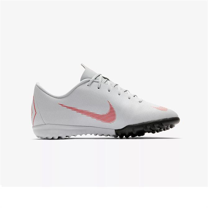 Nike Junior MercurialX Vapor XII Academy Turf Football Shoe- Wolf Grey