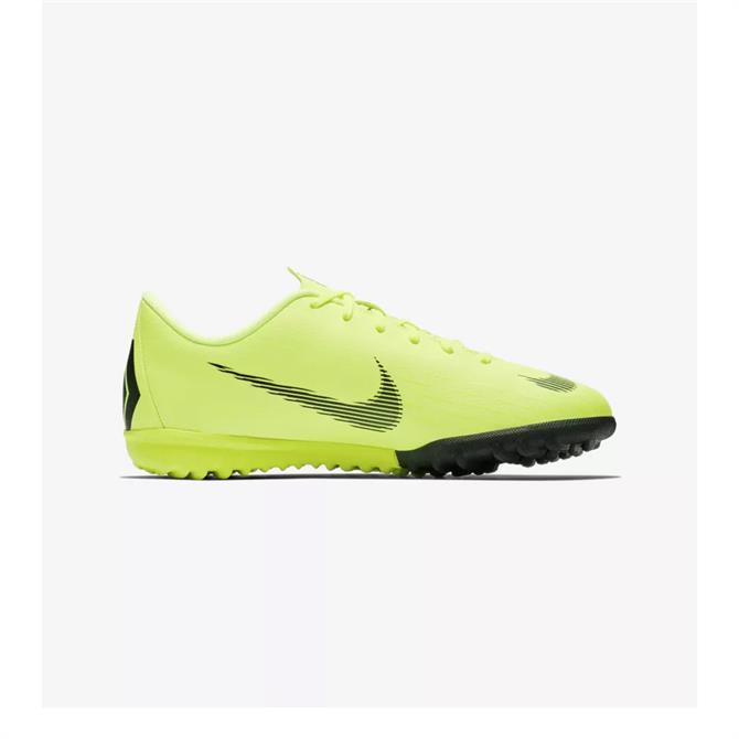 Nike Junior MercurialX Vapor XII Academy Turf Football Boots - Volt