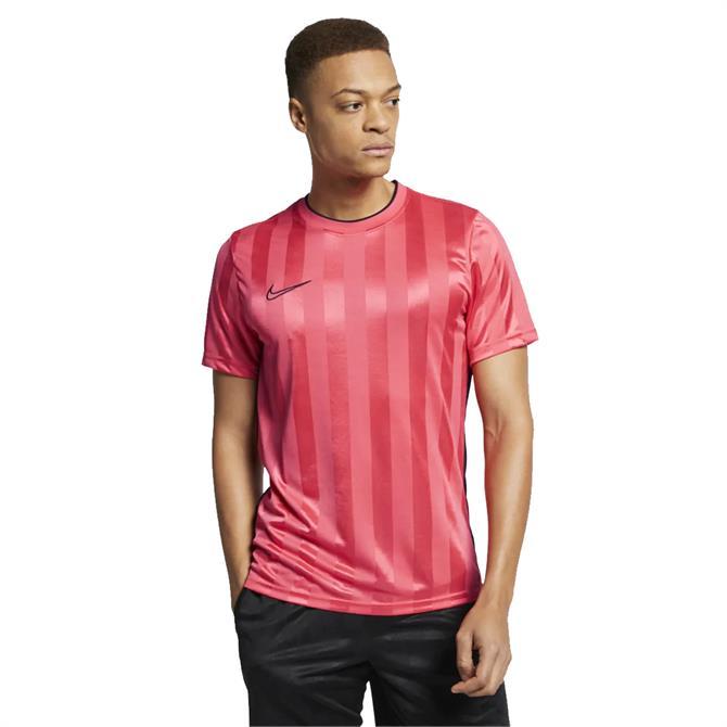 Nike Men's Breathe Academy Short Sleeve Top - Ember Glow