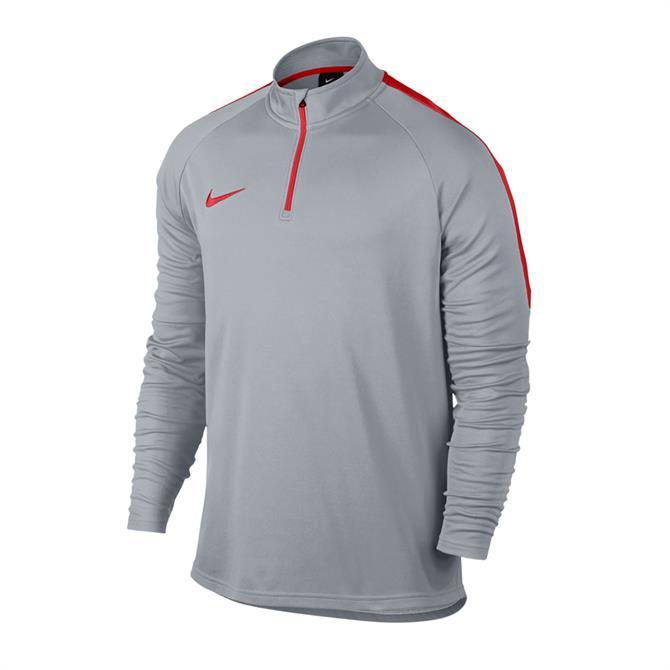 Nike Men's Dry Academy ¼ Zip Football Drill Top- Wolf Grey