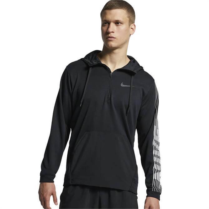 Nike Men's Dri-FIT Fleece Training Hoodie - Black