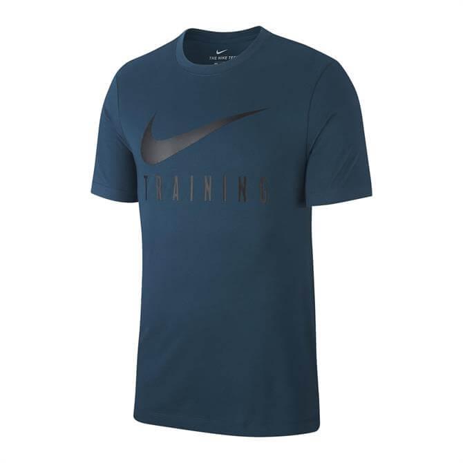 Nike Men's Dry Training Short Sleeve - Nightshade